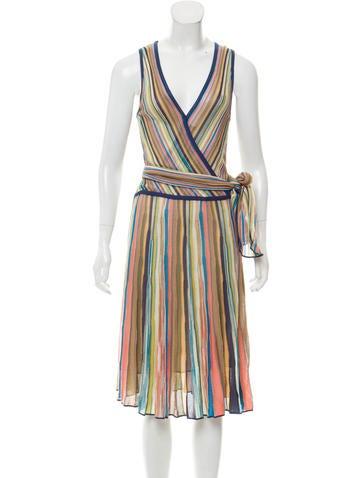 M Missoni Patterned Midi Dress None