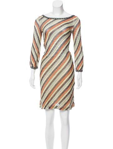 M Missoni Midi Knit Dress None