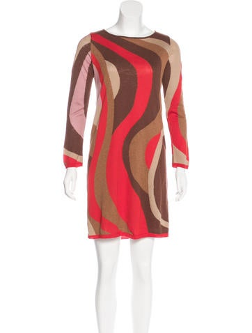 M Missoni Patterned Shift Dress None