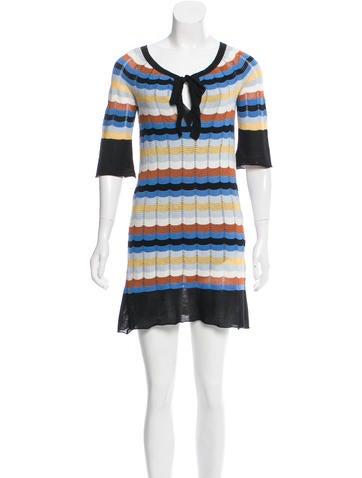 M Missoni Knit Mini Dress None