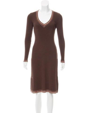 M Missoni Wool Knit Dress None
