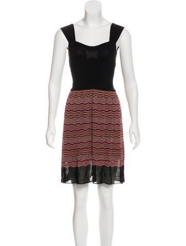 M Missoni Sleeveless Knit Dress None