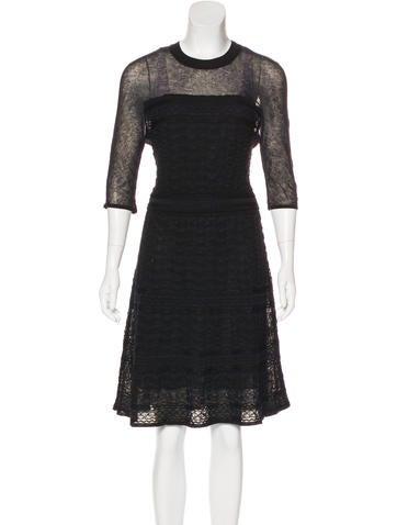 M Missoni Knit Midi Dress None