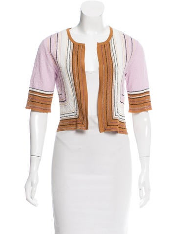 M Missoni Patterned Opened Cardigan None