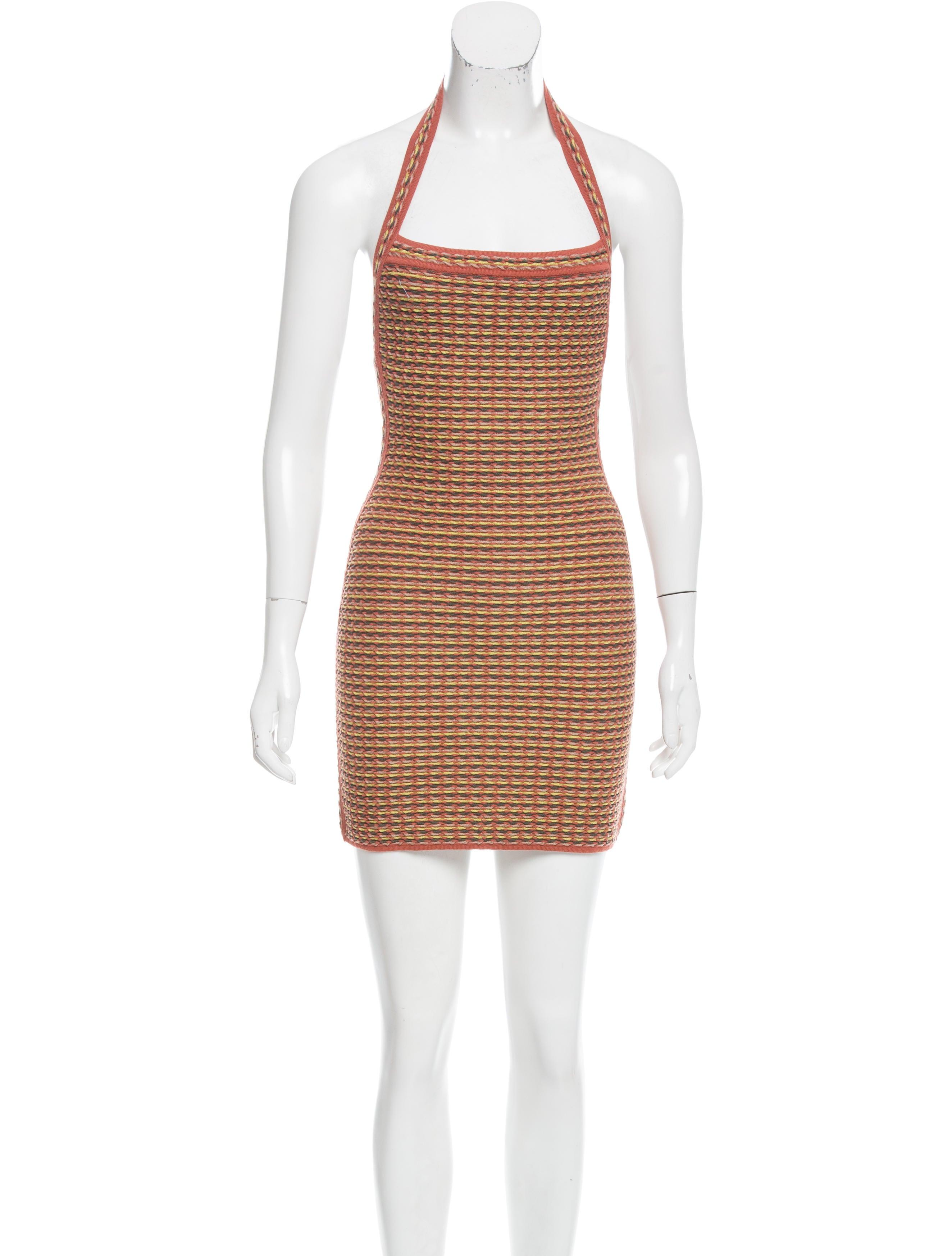 m missoni patterned mini dress clothing wm442318 the realreal. Black Bedroom Furniture Sets. Home Design Ideas