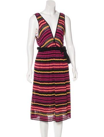 M Missoni Knit Midi Dress w/ Tags None