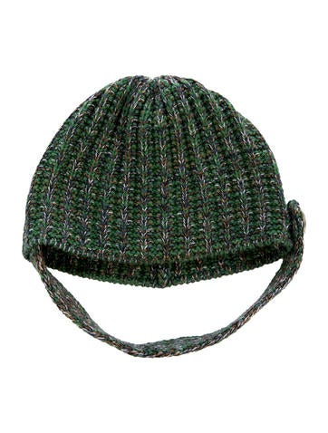 M Missoni Wool Rib Knit Beanie None