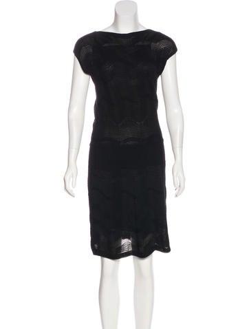 M Missoni Merino Wool Sleeveless Dress None