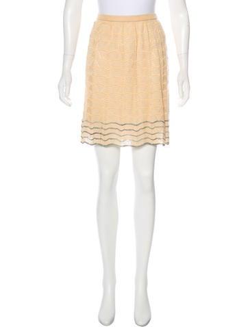M Missoni Knit Mini Skirt None