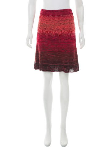 M Missoni A-Line Patterned Skirt None
