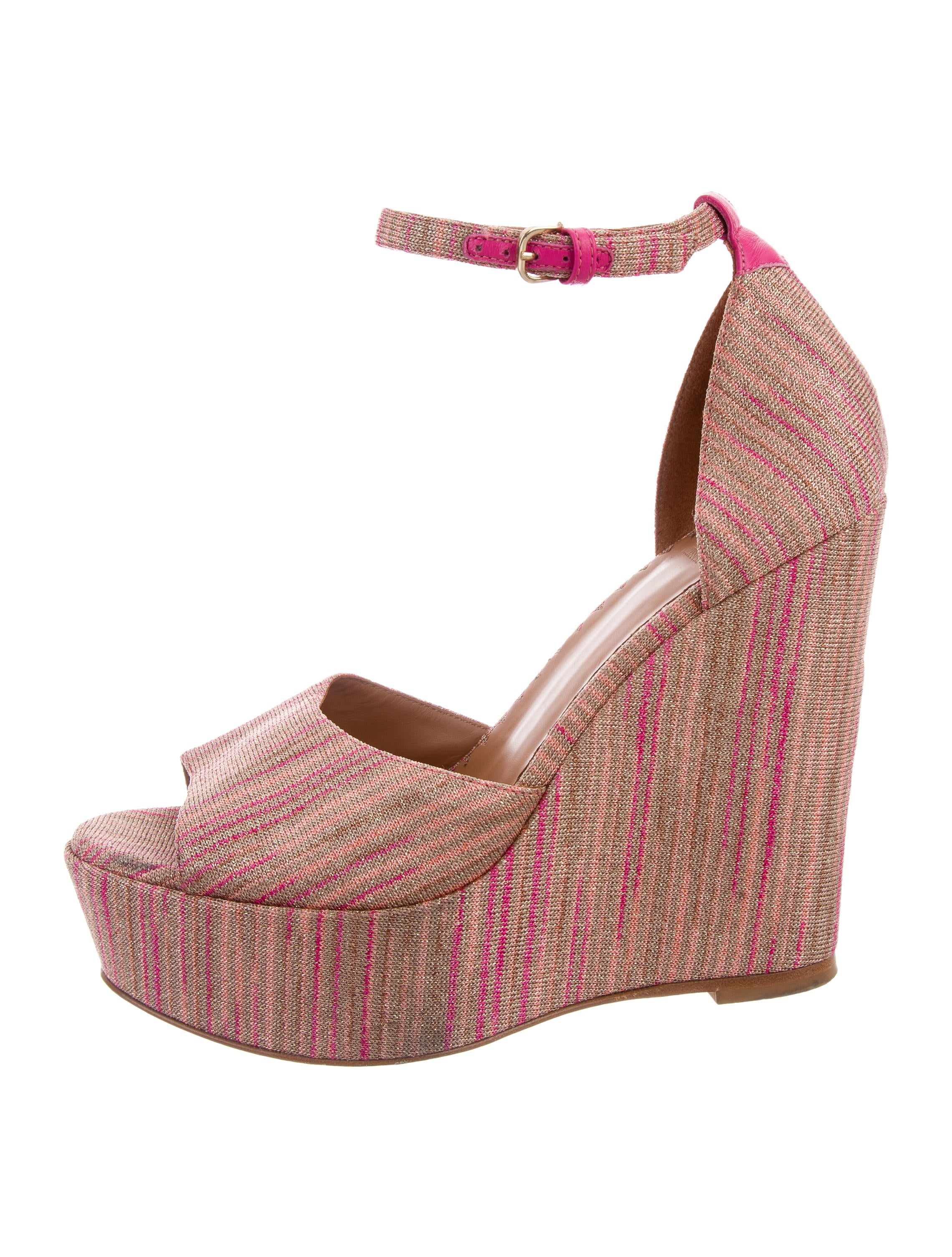 free shipping pay with paypal Missoni M Patterned Platform Wedges big sale online sale get authentic discount store EA1YiWQvq