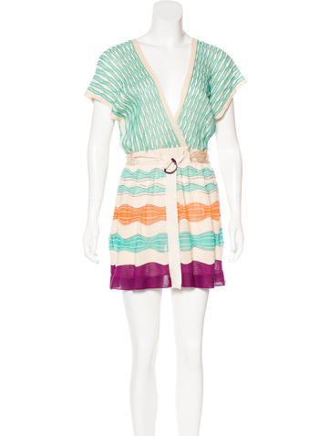 M Missoni Knit Mini Dress w/ Tags None