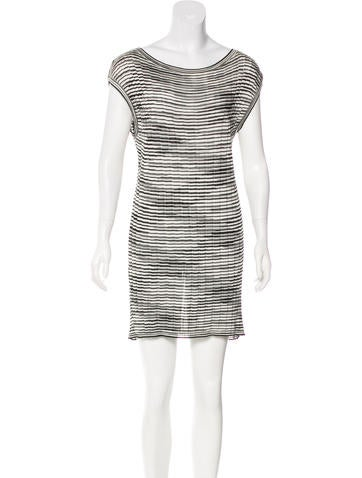 M Missoni Striped Sleeveless Tunic None