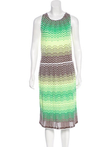 M Missoni Knit Patterned Dress None