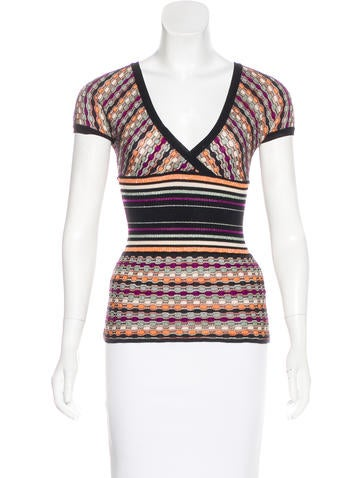 M Missoni Wool-Blend Top None