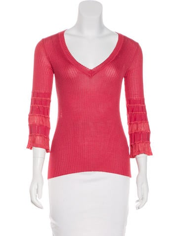 M Missoni Rib Knit Top None