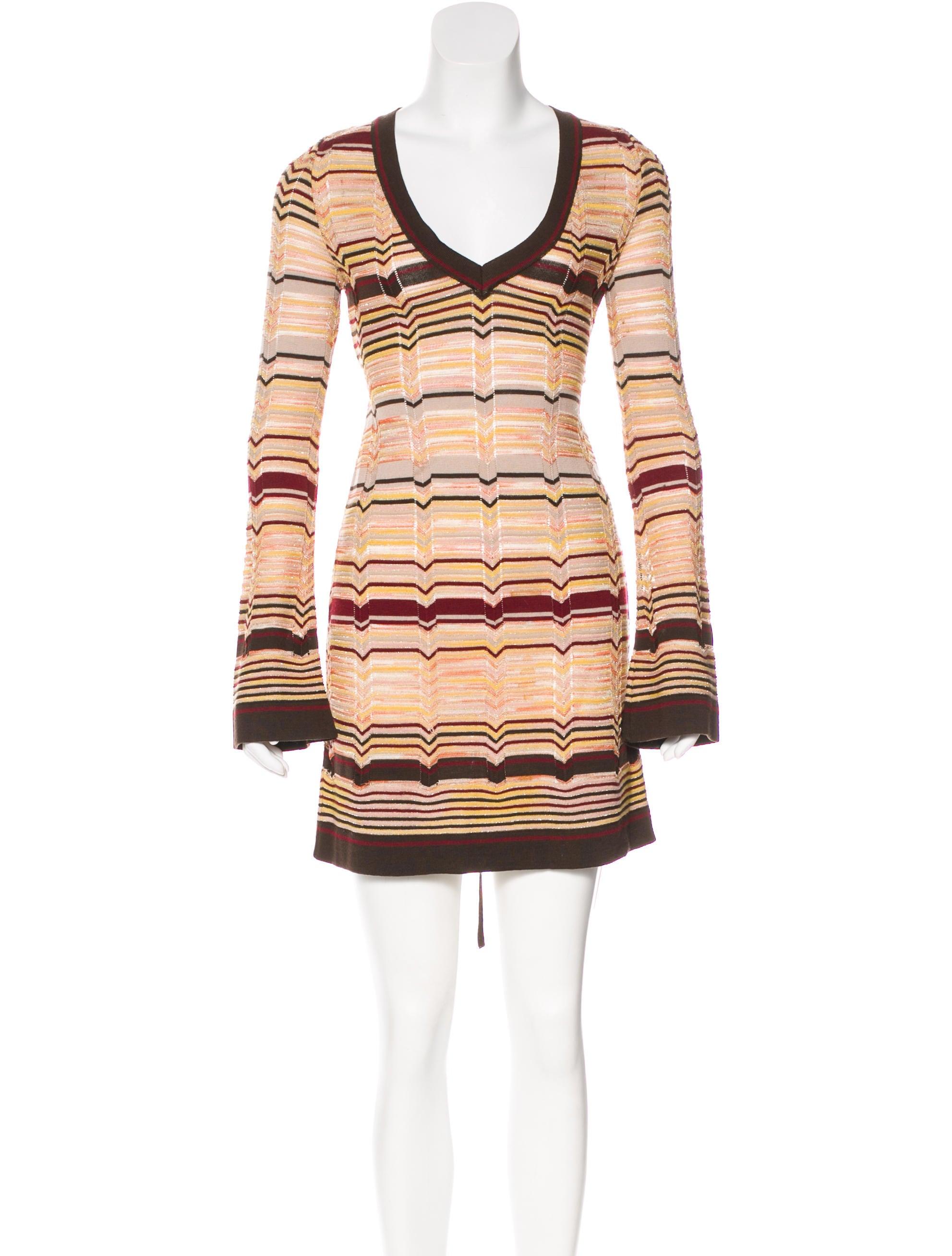 64fa8eec17322 M Missoni Metallic Wool Dress - Clothing - WM444458 | The RealReal