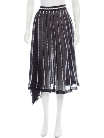 M Missoni Stretch Knit Midi Skirt w/ Tags None