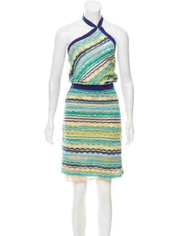 M Missoni One-Shoulder Midi Dress None