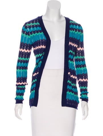 M Missoni Knit Long Sleeve Cardigan None