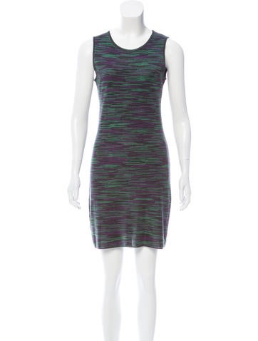 M Missoni Sleeveless Mini Dress None