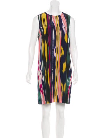 M Missoni Sleeveless Silk Dress None