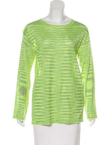 M Missoni Patterned Knit Top w/ Tags None