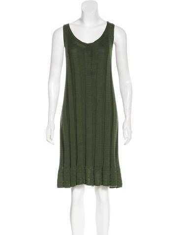 M Missoni Wool-Blend Sleeveless Dress None