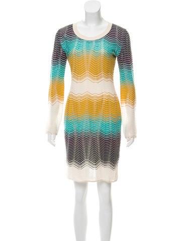M Missoni Knee-Length Sweater Dress None