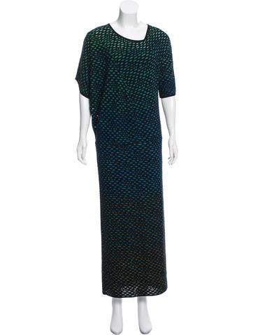 M Missoni Embroidered Maxi Dress w/ Tags None