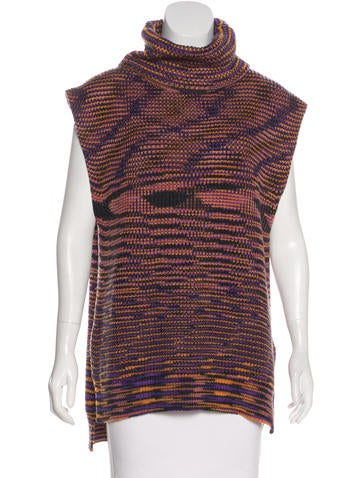 M Missoni Wool Turtleneck Tunic None