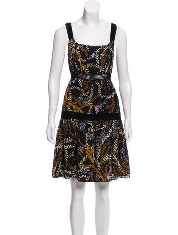 M Missoni Sleeveless Printed Dress None