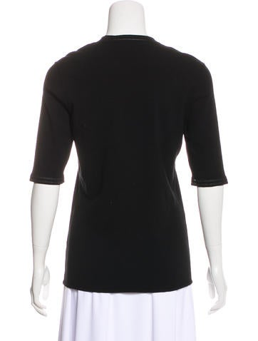 Knit Short Sleeve Top w/ Tags