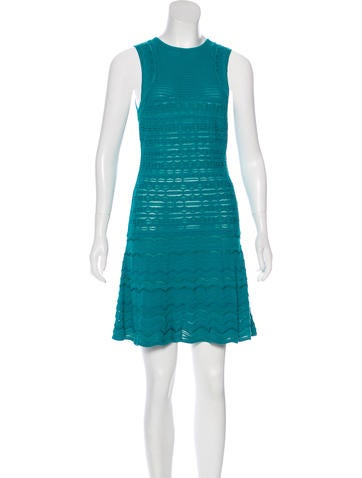 M Missoni Knit A-Line Dress None