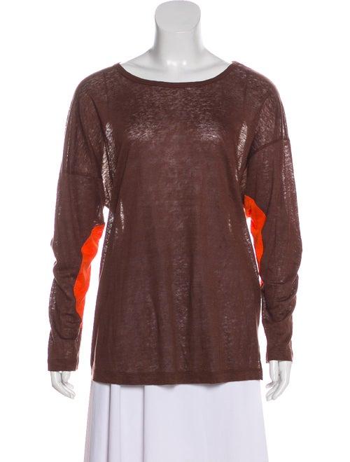 4aba9acb2e M Missoni Long Sleeve Linen Top - Clothing - WM455368
