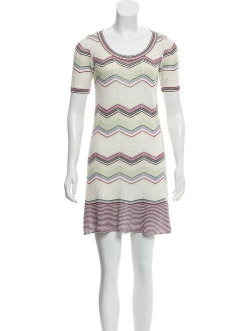 M Missoni Textured Knit Dress White