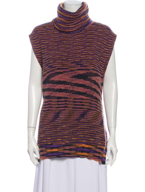 M Missoni Merino Wool Striped Sweater Wool
