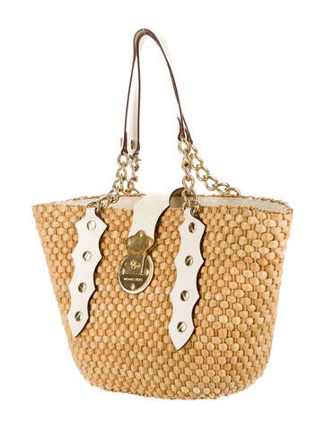 Michael by Michael Kors Straw Tote