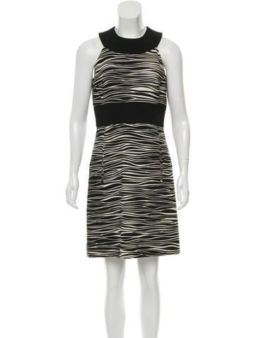 Michael Michael Kors Sleeveless Wool Dress None