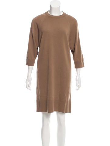 Michael Michael Kors Cashmere & Wool-Blend Sweater Dress None