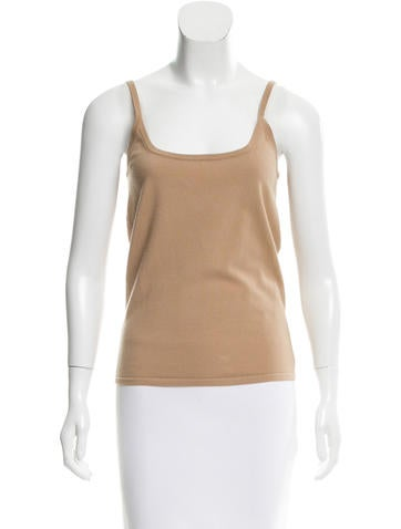 Michael Michael Kors Sleeveless Wool Top None