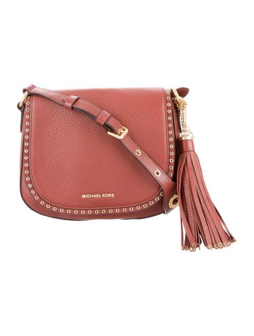 5f0511a24de196 Michael Michael Kors Medium Brooklyn Saddle Bag - Handbags ...