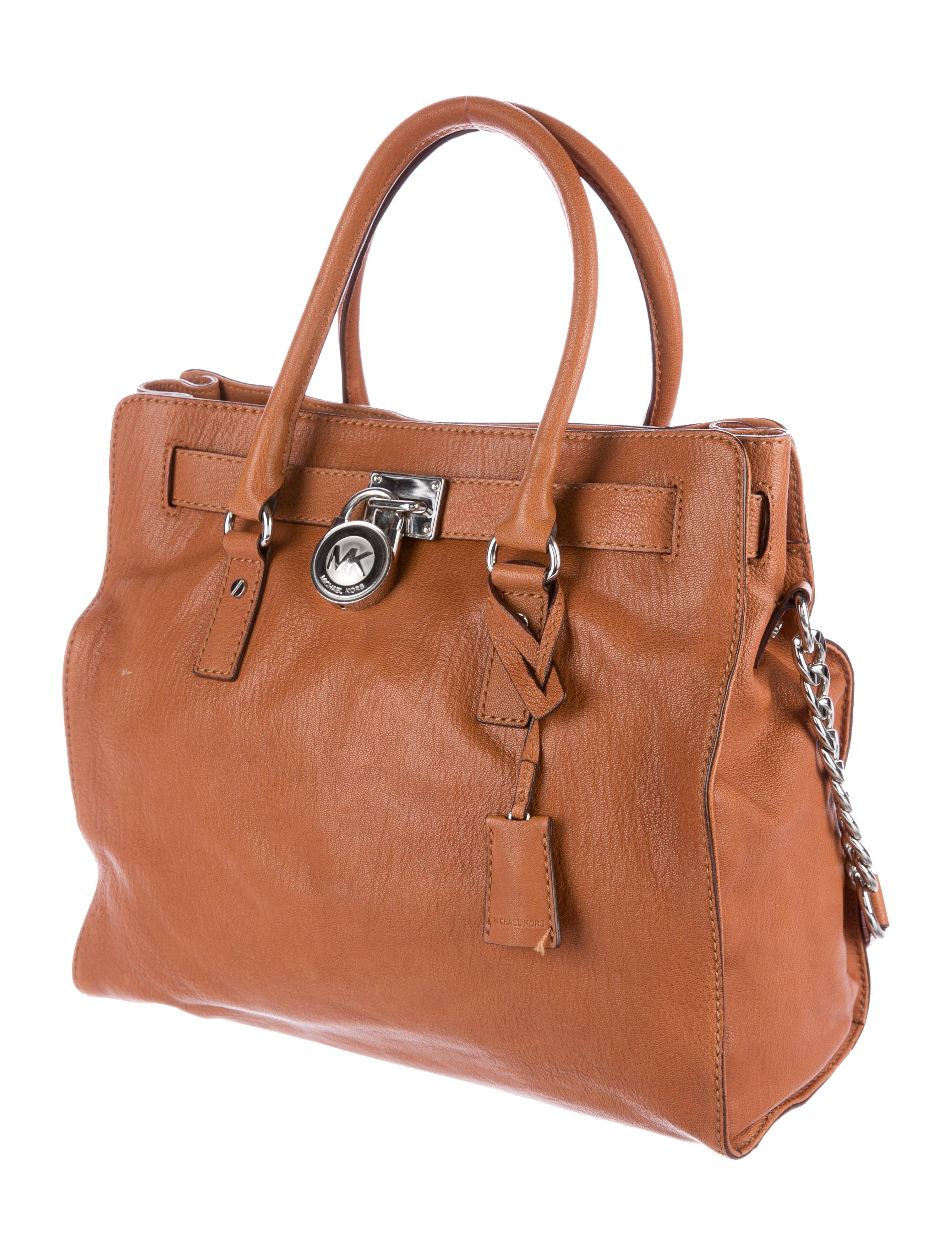 michael michael kors hamilton leather satchel handbags. Black Bedroom Furniture Sets. Home Design Ideas