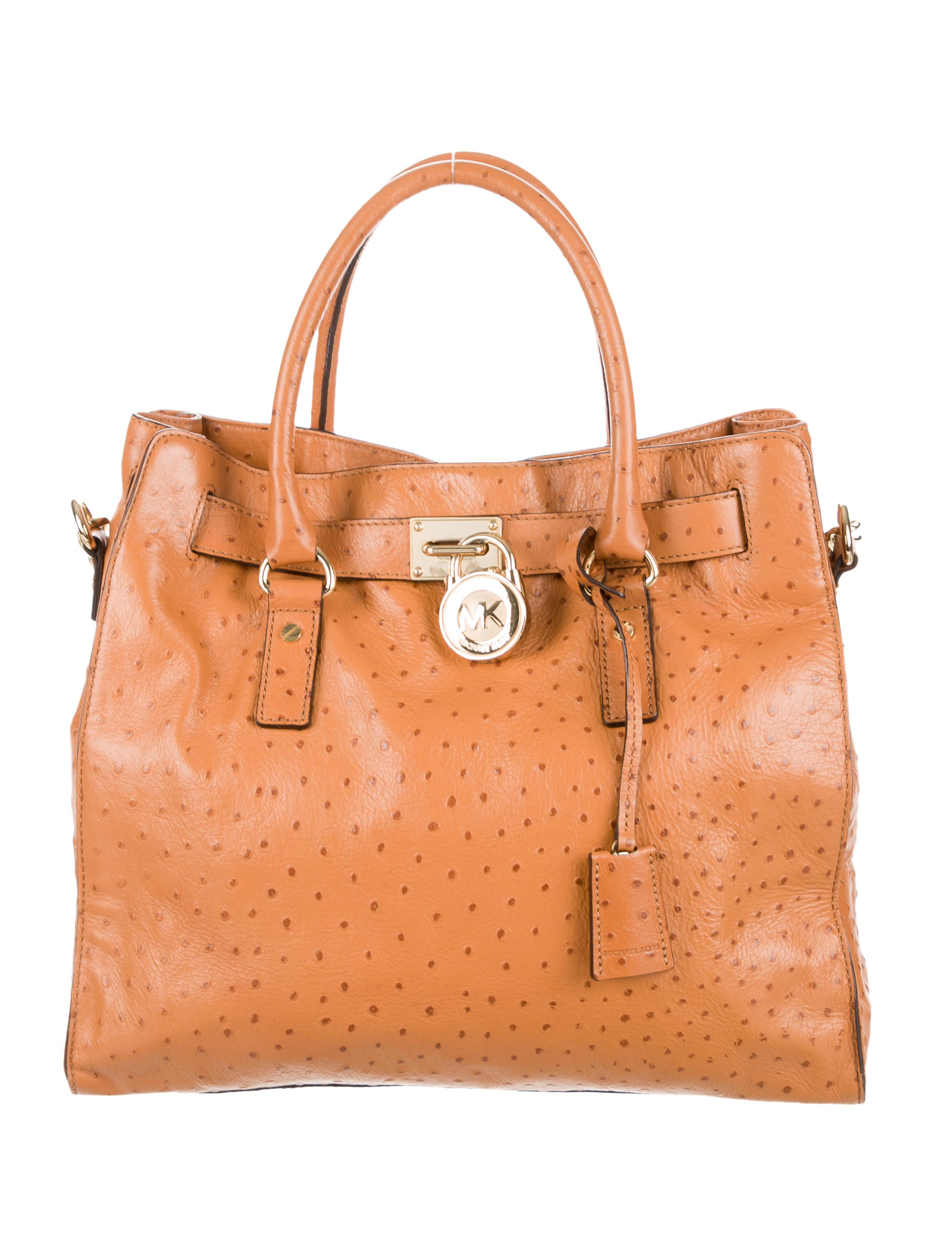 Michael Michael Kors Embossed Large Hamilton Satchel  : WM5209211enlarged from www.therealreal.com size 1877 x 2476 jpeg 325kB