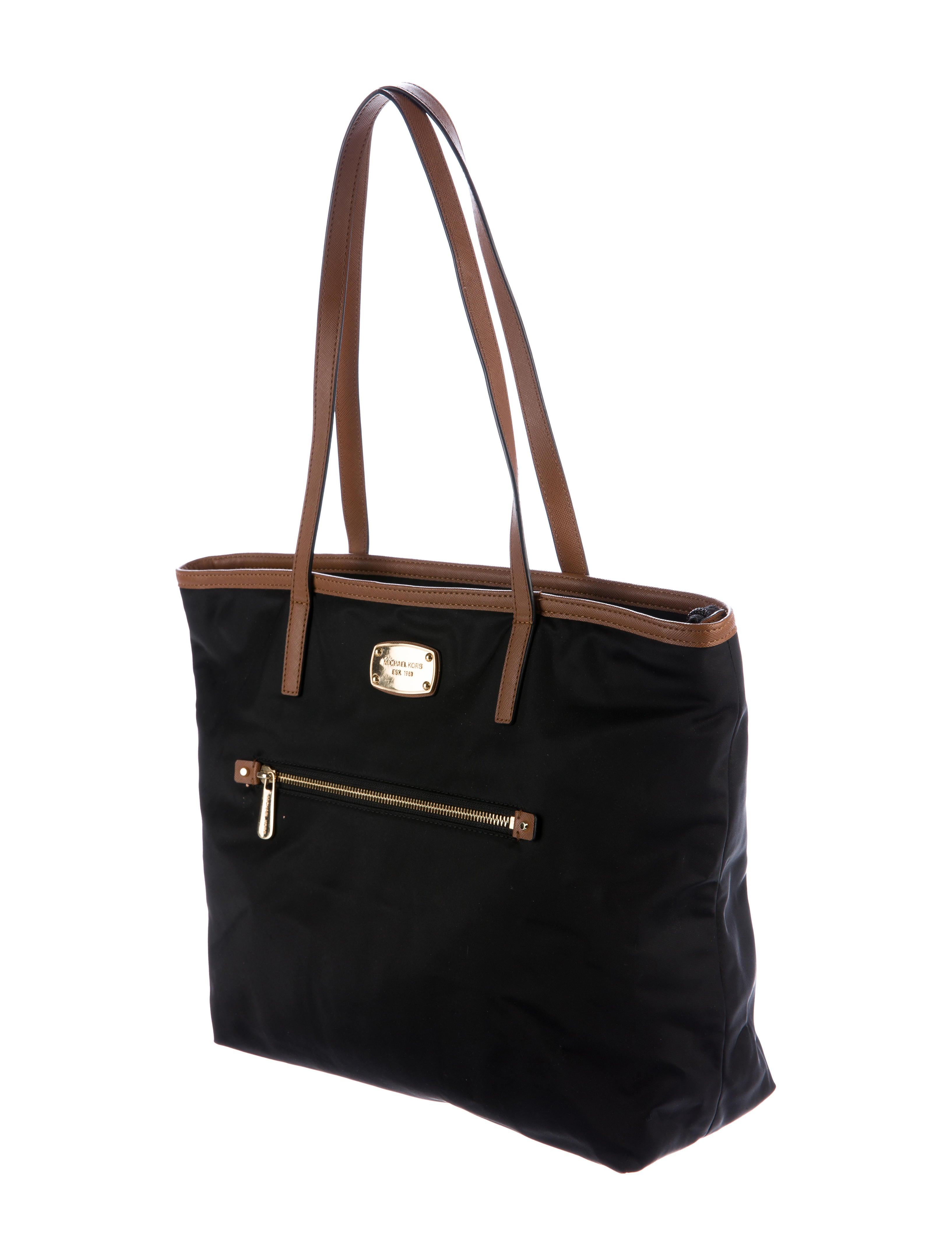 Bolsa Michael Kors Nylon : Michael kors kempton nylon tote handbags