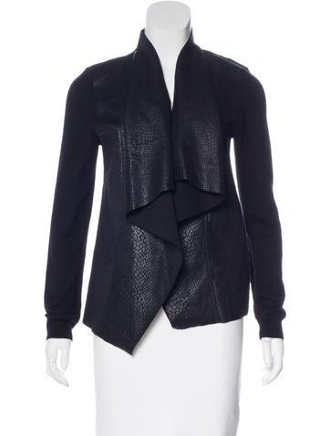 Michael Michael Kors Draped Knit Jacket w/ Tags None