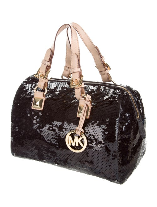 8417514aced860 Michael Michael Kors Large Grayson Sequin Satchel - Handbags ...