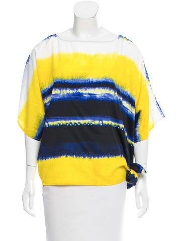 Michael Michael Kors Tie-Dye Oversize Top None