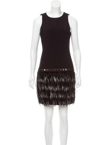 Michael Michael Kors Embellished Mini Dress None