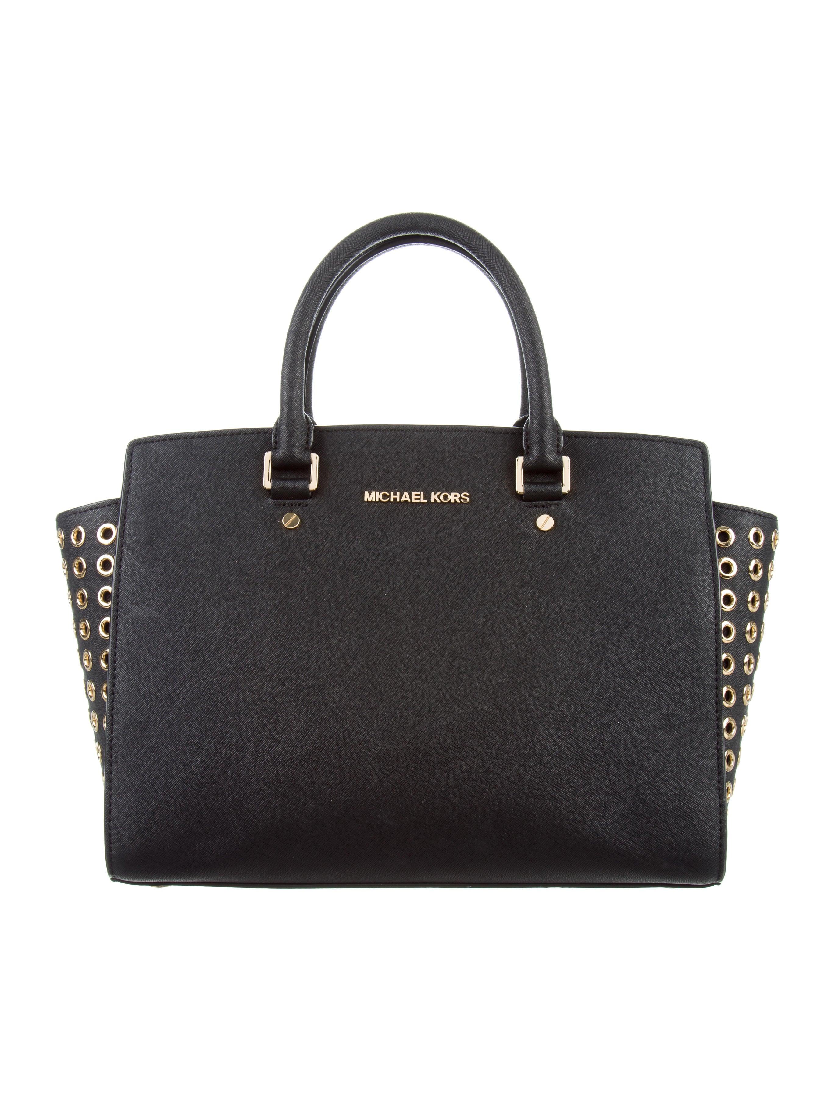 michael michael kors large selma satchel handbags. Black Bedroom Furniture Sets. Home Design Ideas